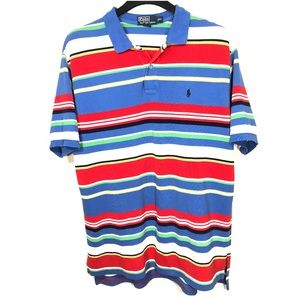 Polo Ralph Lauren Colorful Striped Polo XXL